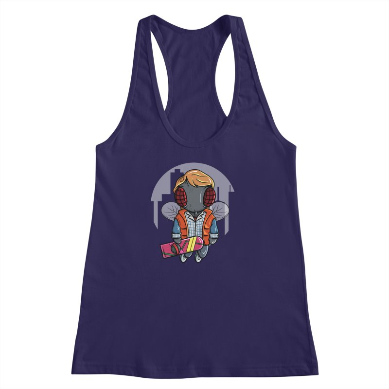Marty McFly Women's Racerback Tank by mebzart's Artist Shop