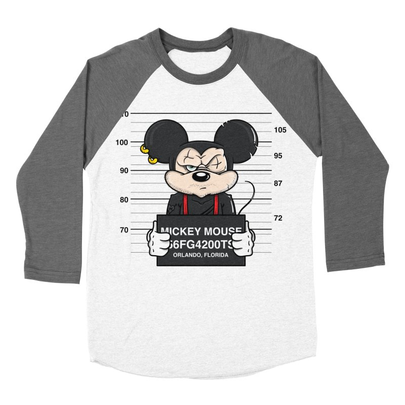 Mickey Mouse - Bad Guys Women's Longsleeve T-Shirt by mebzart's Artist Shop