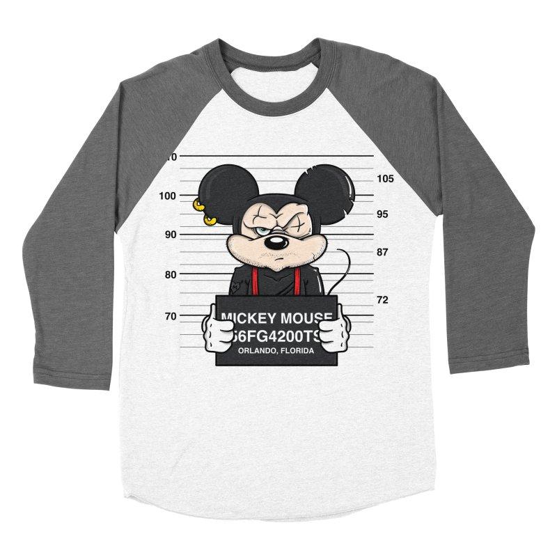 Mickey Mouse - Bad Guys Men's Longsleeve T-Shirt by mebzart's Artist Shop