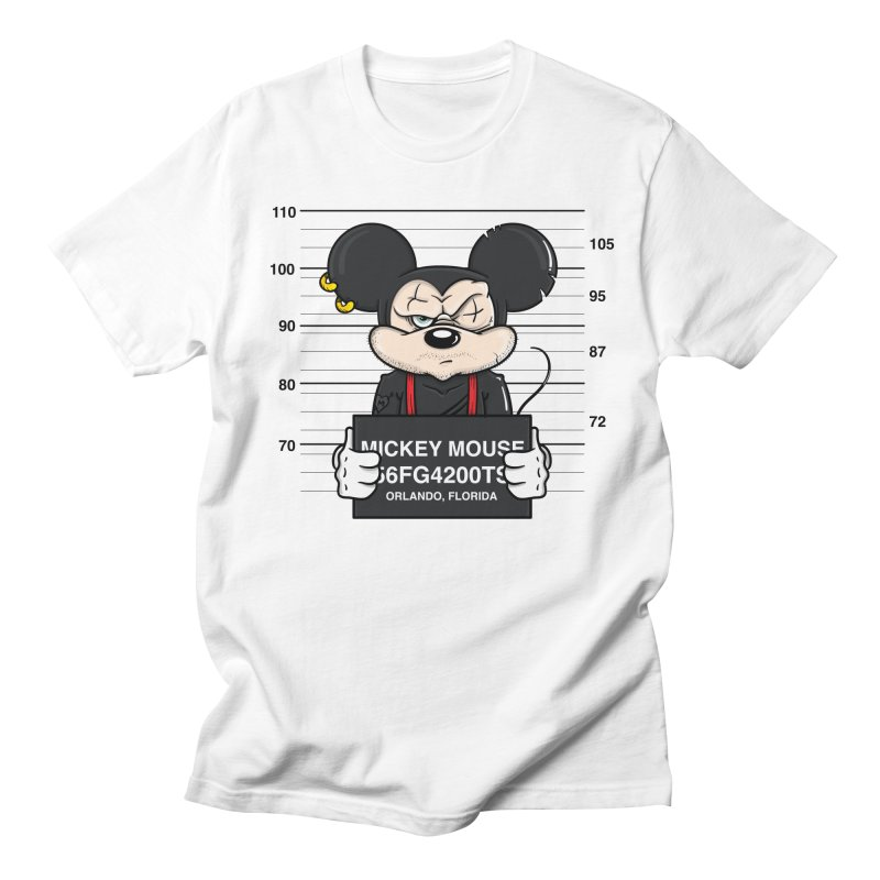 Mickey Mouse - Bad Guys Men's Regular T-Shirt by mebzart's Artist Shop