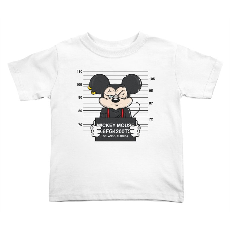 Mickey Mouse - Bad Guys Kids Toddler T-Shirt by mebzart's Artist Shop