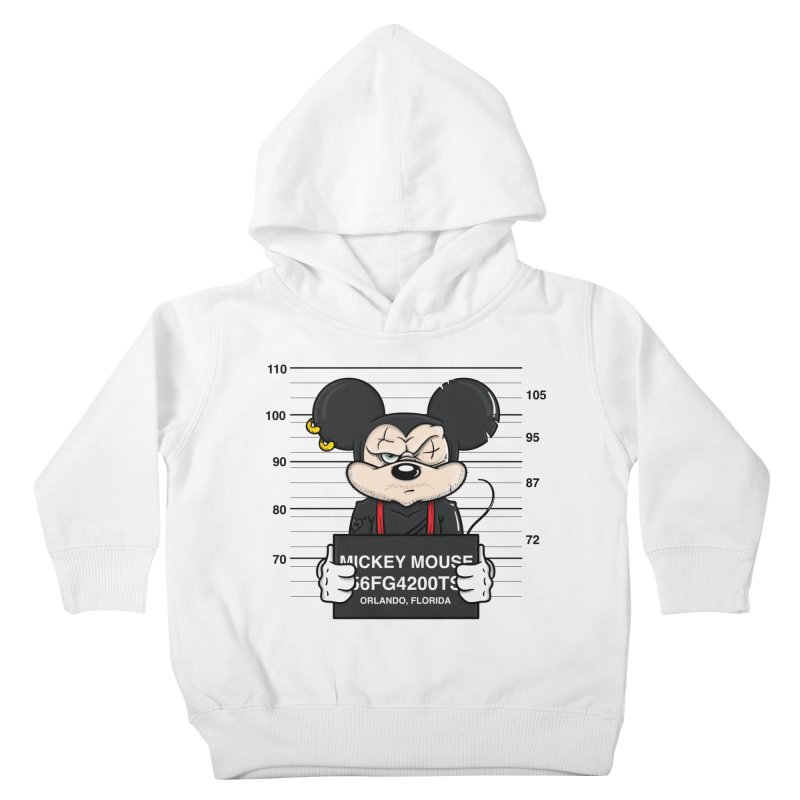 Mickey Mouse - Bad Guys Kids Toddler Pullover Hoody by mebzart's Artist Shop
