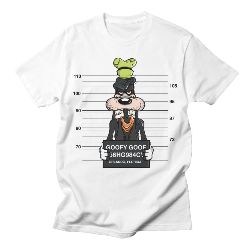 Goofy The Goof - Bad Guys Men's T-Shirt by mebzart's Artist Shop