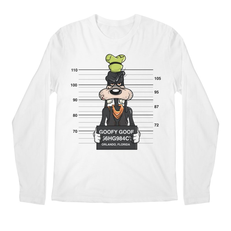 Goofy The Goof - Bad Guys Men's Regular Longsleeve T-Shirt by mebzart's Artist Shop