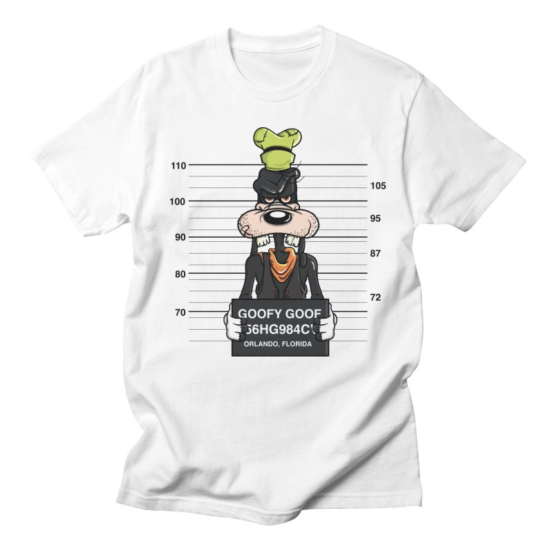 Goofy The Goof - Bad Guys Men's Regular T-Shirt by mebzart's Artist Shop