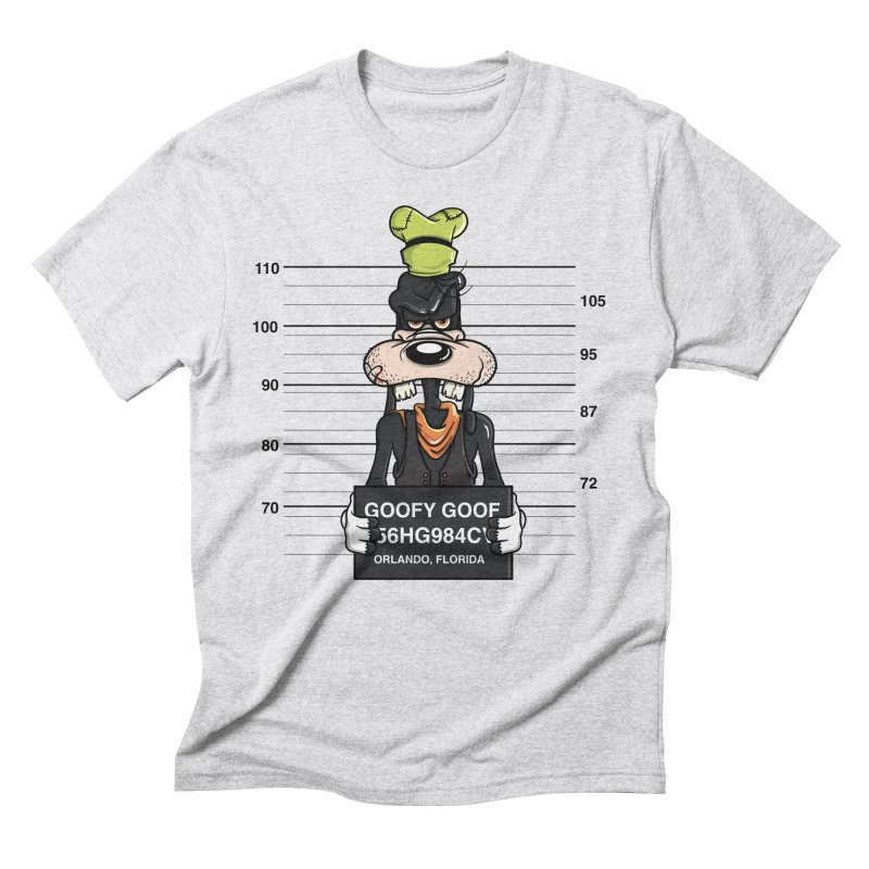 Goofy The Goof - Bad Guys Men's Triblend T-Shirt by mebzart's Artist Shop