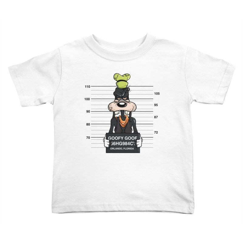 Goofy The Goof - Bad Guys Kids Toddler T-Shirt by mebzart's Artist Shop