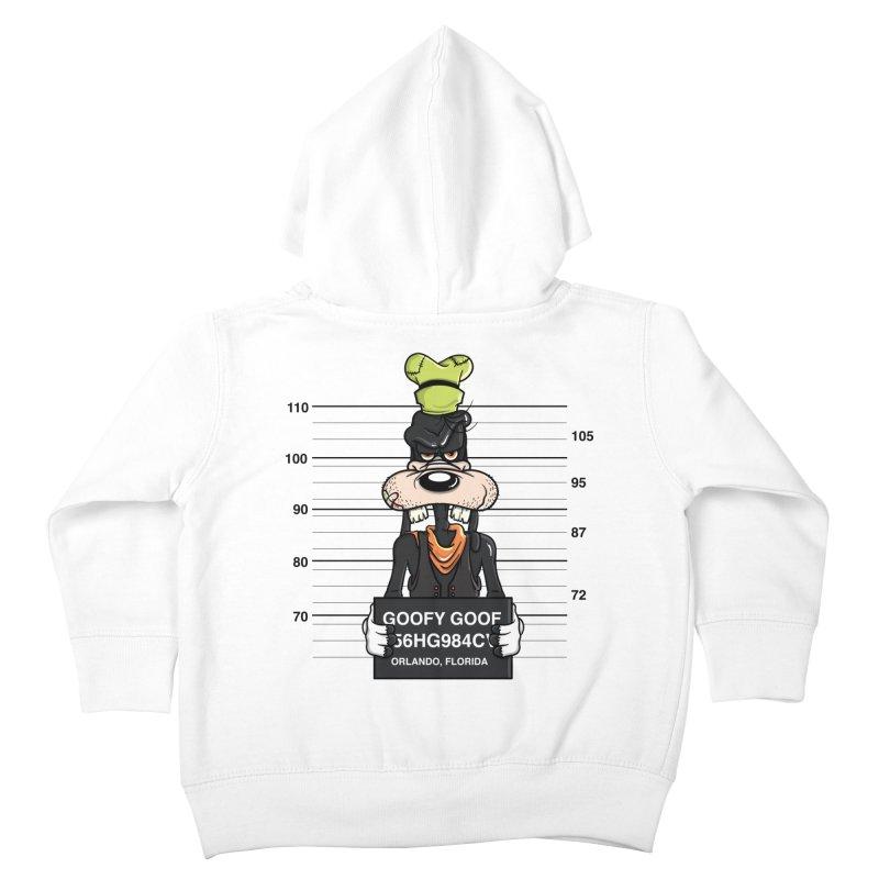Goofy The Goof - Bad Guys Kids Toddler Zip-Up Hoody by mebzart's Artist Shop