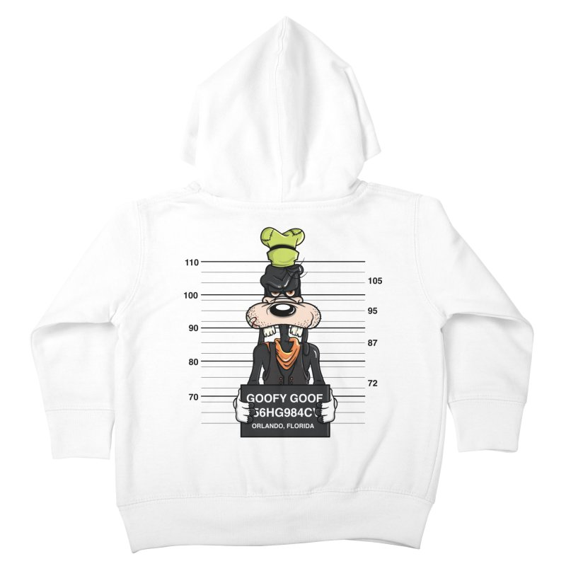 Goofy The Goof - Bad Guys Kids Toddler Zip-Up Hoody by mebzart's Artist Shop