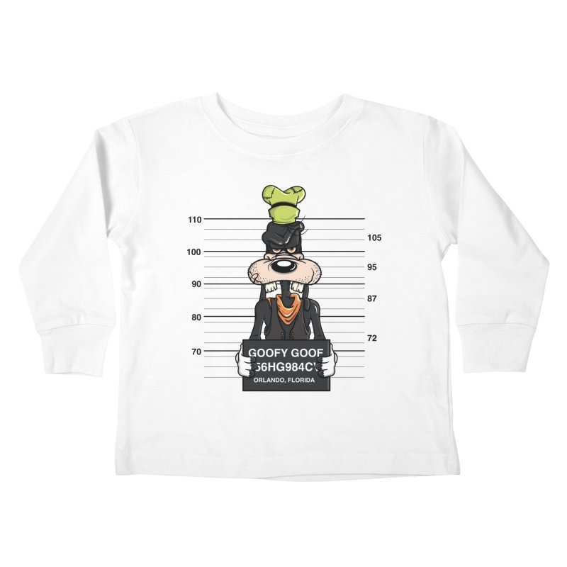 Goofy The Goof - Bad Guys Kids Toddler Longsleeve T-Shirt by mebzart's Artist Shop