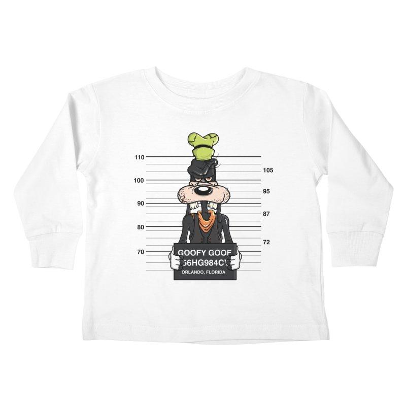 Goofy The Goof - Bad Guys Kids Toddler Longsleeve T-Shirt by mebzart's Artist Shop