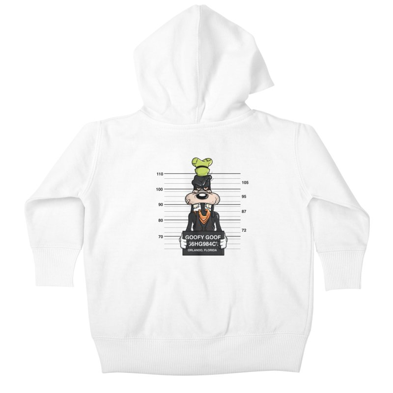 Goofy The Goof - Bad Guys Kids Baby Zip-Up Hoody by mebzart's Artist Shop