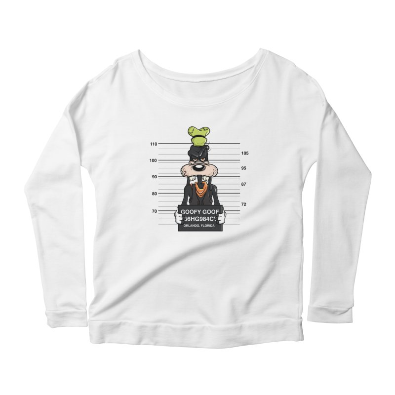Goofy The Goof - Bad Guys Women's Longsleeve T-Shirt by mebzart's Artist Shop