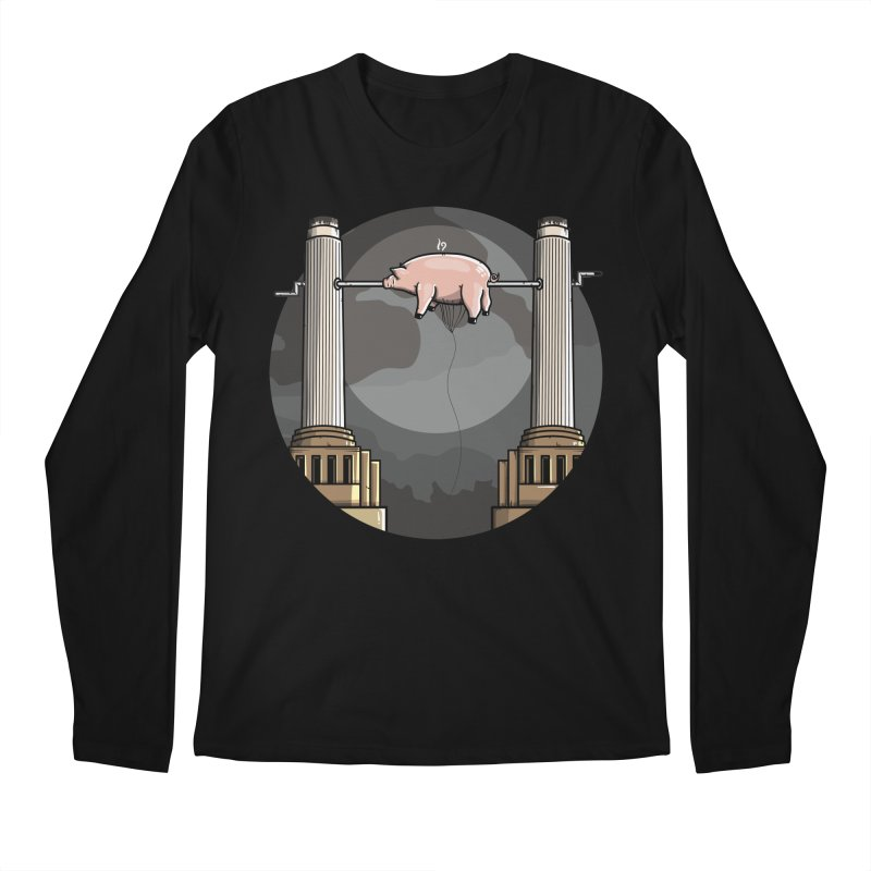 Animals Men's Regular Longsleeve T-Shirt by mebzart's Artist Shop