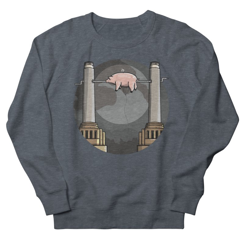 Animals Women's French Terry Sweatshirt by mebzart's Artist Shop