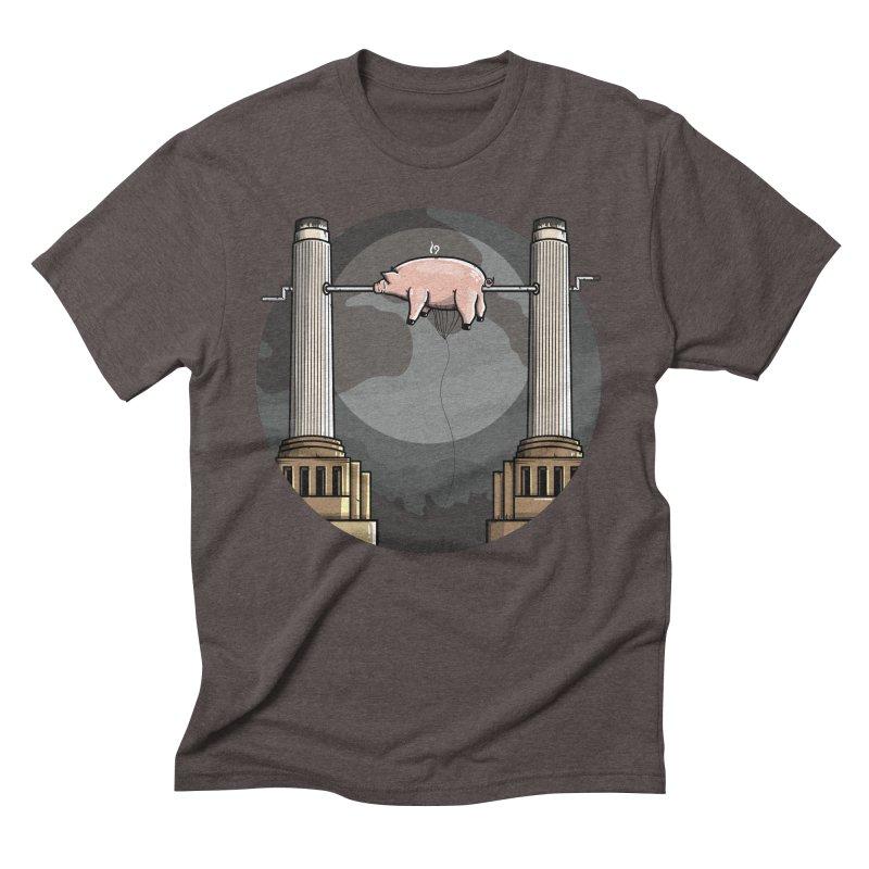 Animals Men's Triblend T-Shirt by mebzart's Artist Shop