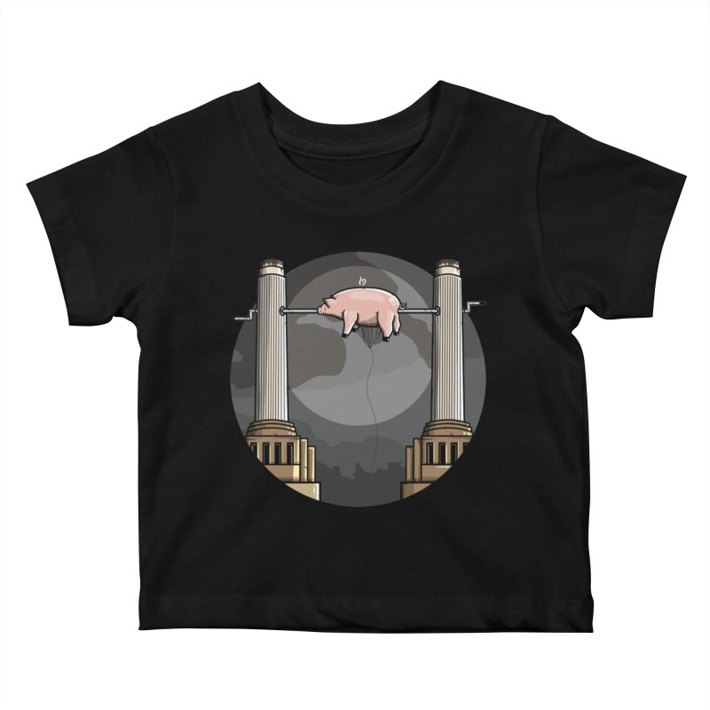 Animals Kids Baby T-Shirt by mebzart's Artist Shop