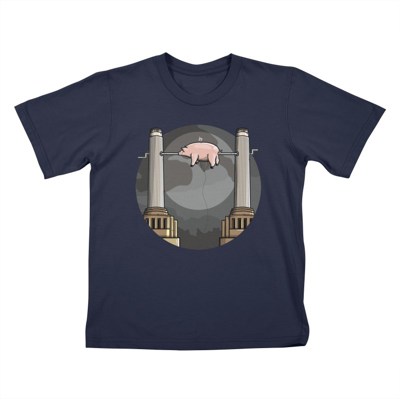 Animals Kids T-Shirt by mebzart's Artist Shop