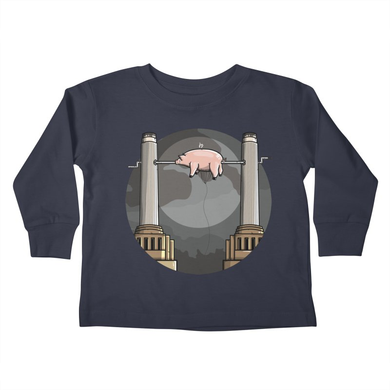 Animals Kids Toddler Longsleeve T-Shirt by mebzart's Artist Shop