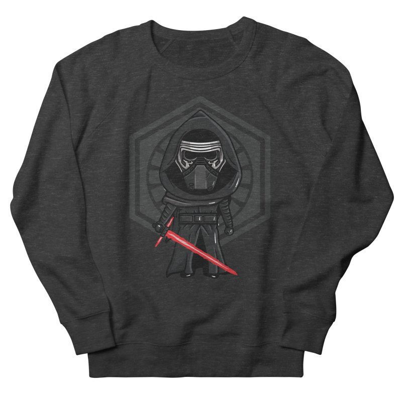 Kylo Ren Women's French Terry Sweatshirt by mebzart's Artist Shop