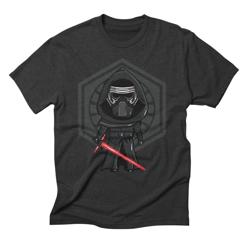 Kylo Ren in Men's Triblend T-Shirt Heather Onyx by mebzart's Artist Shop
