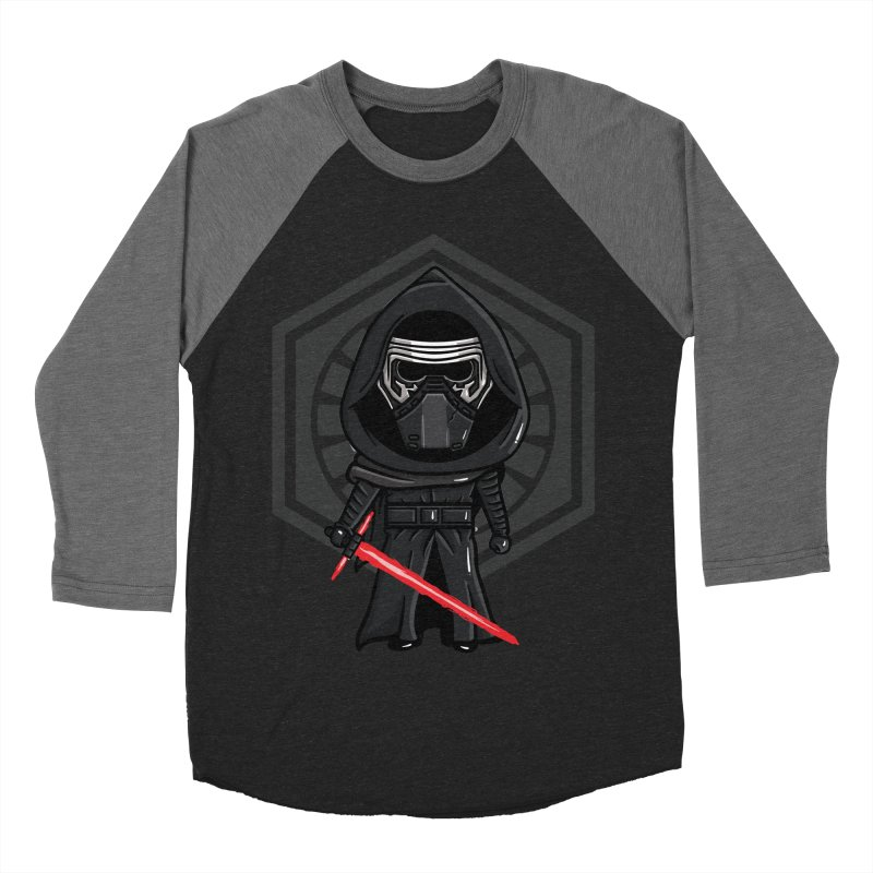 Kylo Ren Men's Baseball Triblend Longsleeve T-Shirt by mebzart's Artist Shop