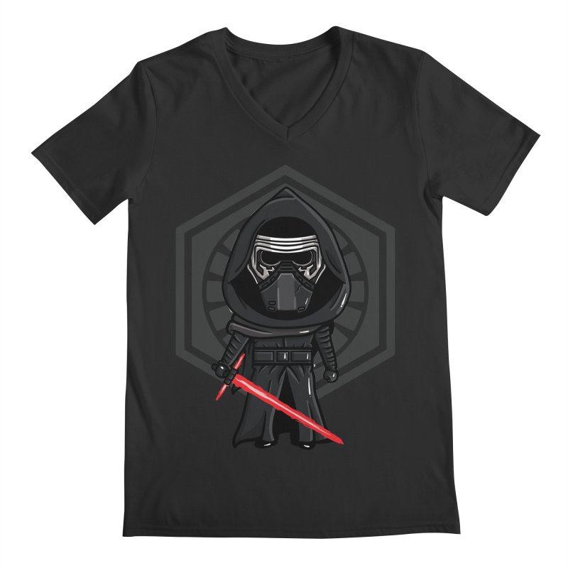 Kylo Ren Men's Regular V-Neck by mebzart's Artist Shop