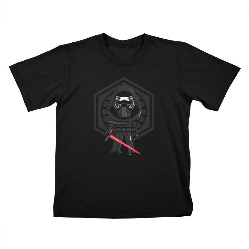 Kylo Ren Kids T-Shirt by mebzart's Artist Shop