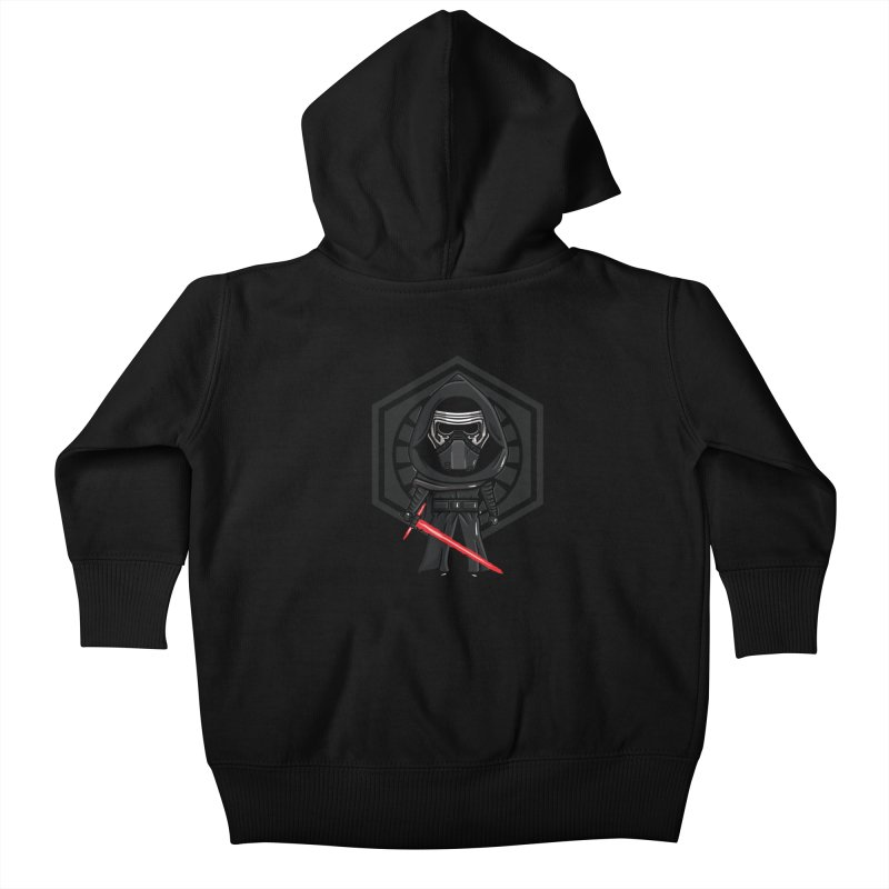 Kylo Ren Kids Baby Zip-Up Hoody by mebzart's Artist Shop