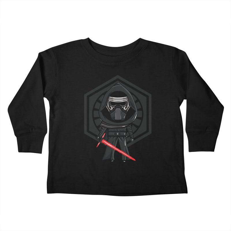 Kylo Ren Kids Toddler Longsleeve T-Shirt by mebzart's Artist Shop