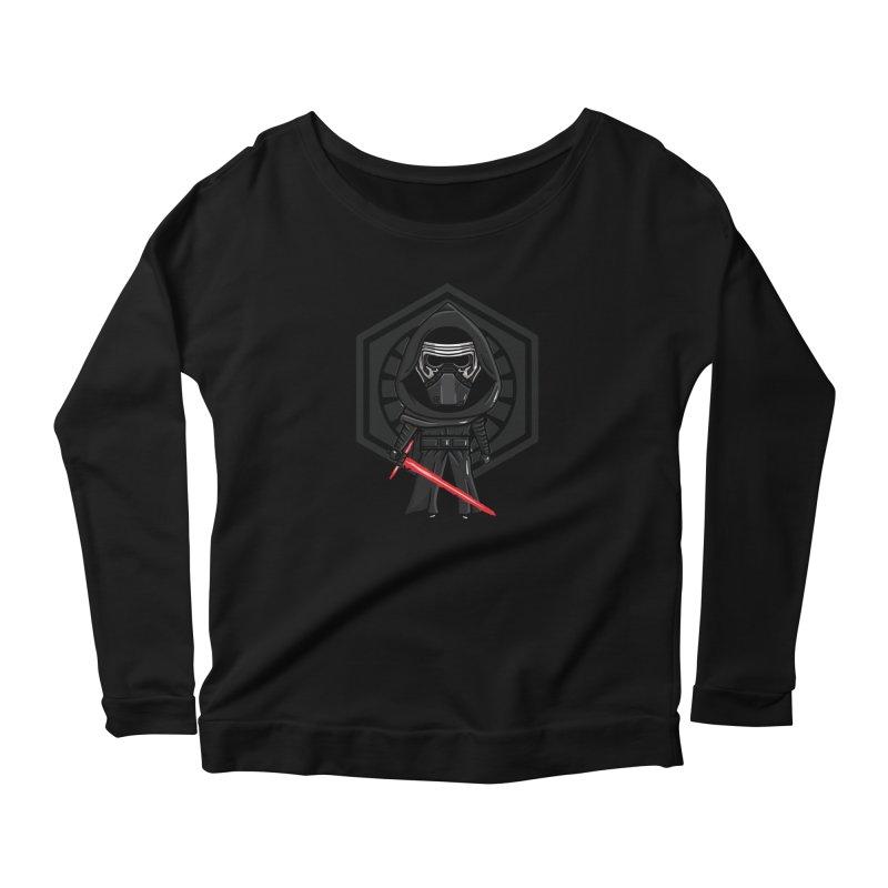 Kylo Ren Women's Longsleeve T-Shirt by mebzart's Artist Shop