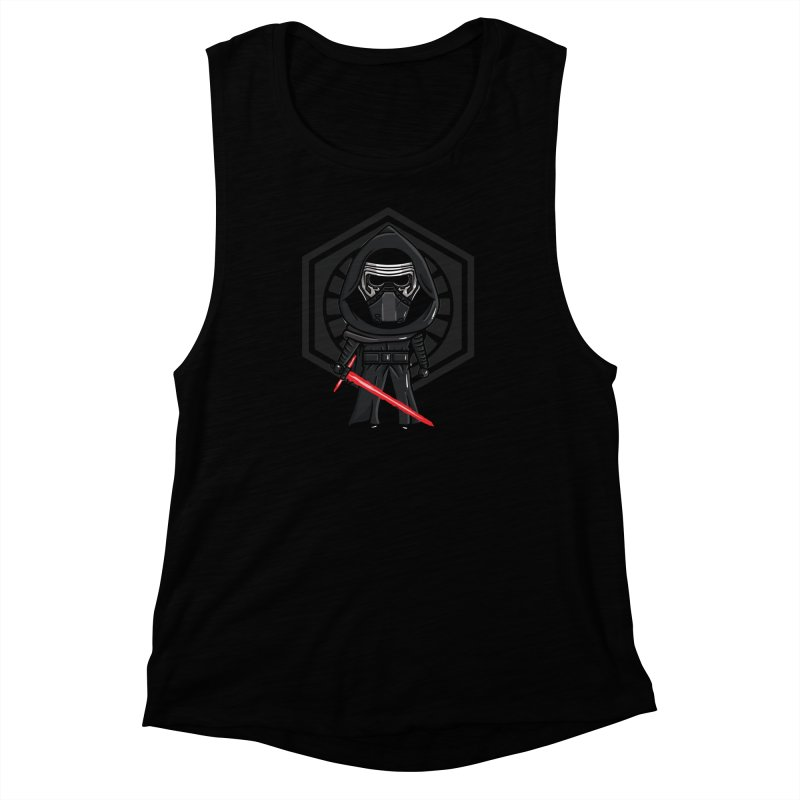 Kylo Ren Women's Muscle Tank by mebzart's Artist Shop