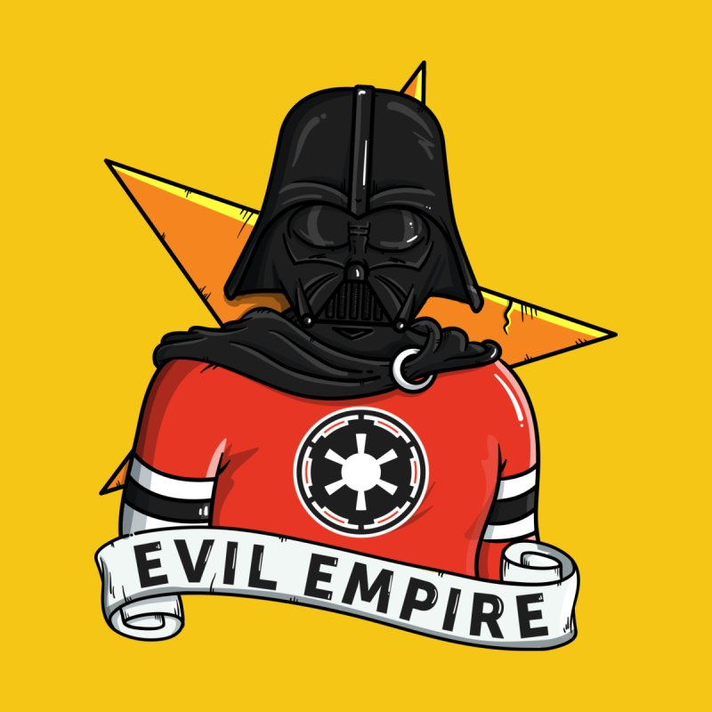 Evil Empire Men's V-Neck by mebzart's Artist Shop