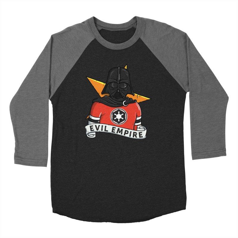 Evil Empire Men's Baseball Triblend Longsleeve T-Shirt by mebzart's Artist Shop