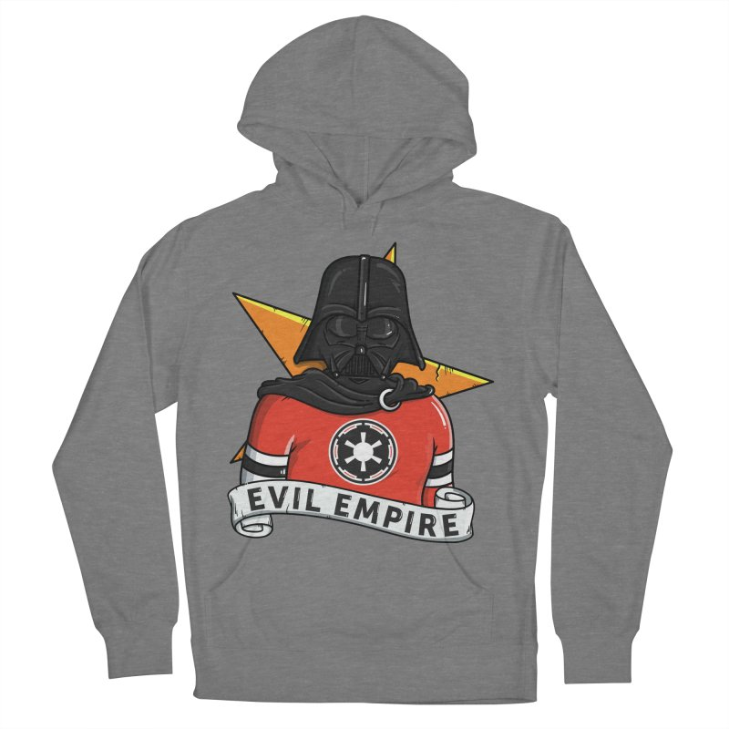 Evil Empire Men's French Terry Pullover Hoody by mebzart's Artist Shop