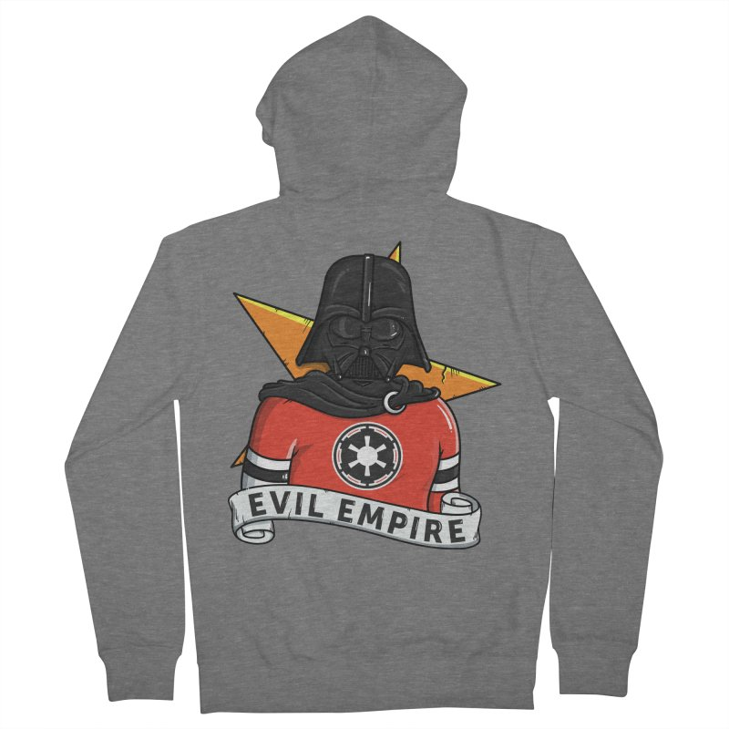 Evil Empire Women's Zip-Up Hoody by mebzart's Artist Shop