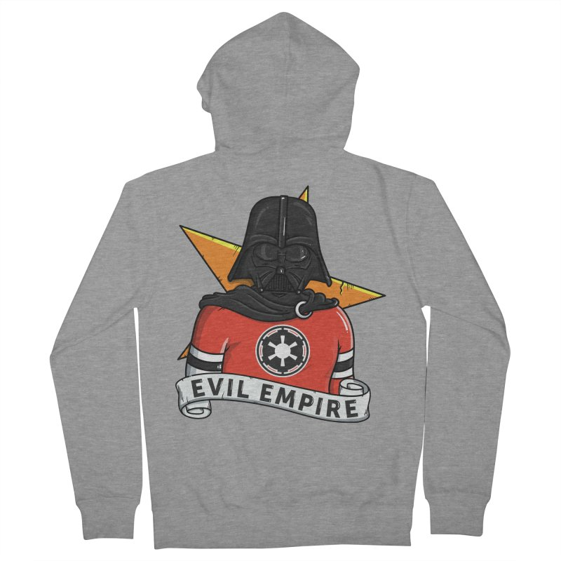 Evil Empire Women's French Terry Zip-Up Hoody by mebzart's Artist Shop