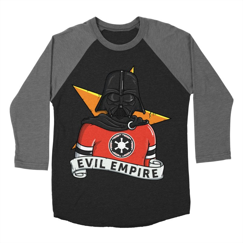 Evil Empire Men's Baseball Triblend Longsleeve T-Shirt by mebzart's Artist Shop