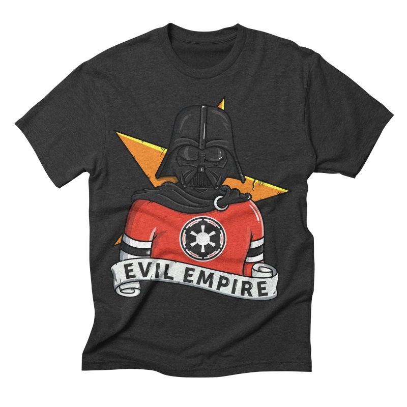 Evil Empire in Men's Triblend T-shirt Heather Onyx by mebzart's Artist Shop