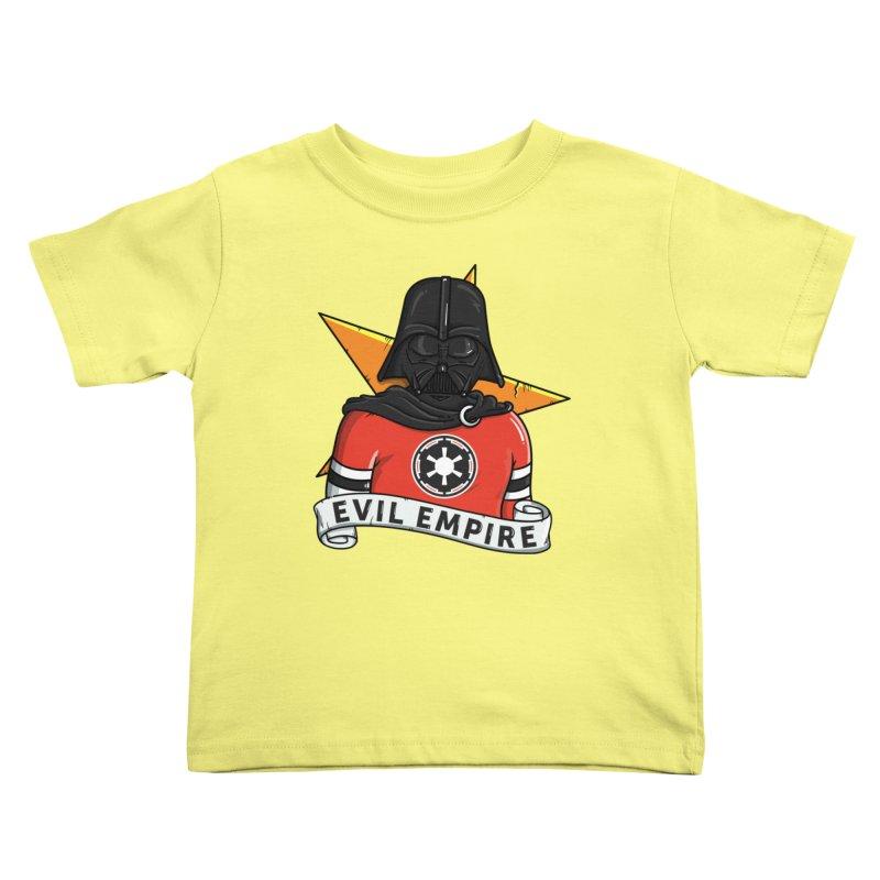 Evil Empire Kids Toddler T-Shirt by mebzart's Artist Shop