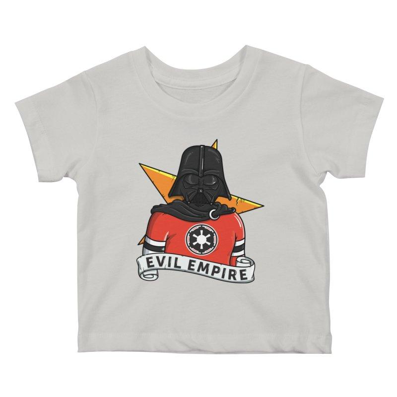 Evil Empire Kids Baby T-Shirt by mebzart's Artist Shop