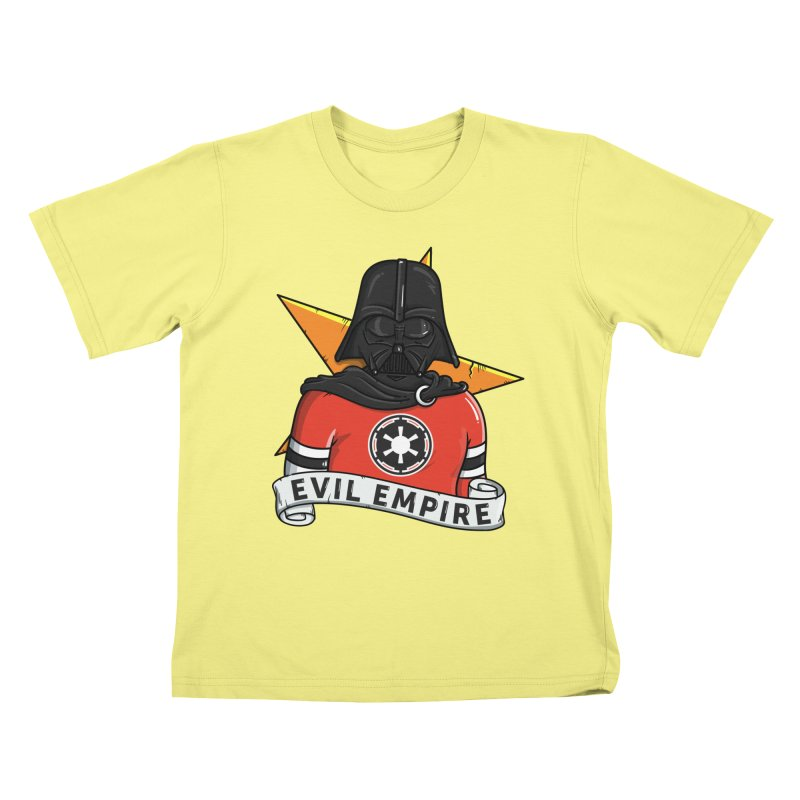 Evil Empire Kids T-shirt by mebzart's Artist Shop