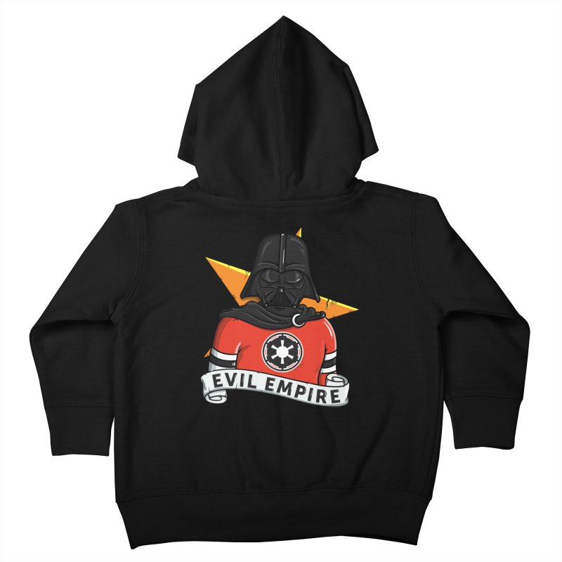 Evil Empire Kids Toddler Zip-Up Hoody by mebzart's Artist Shop