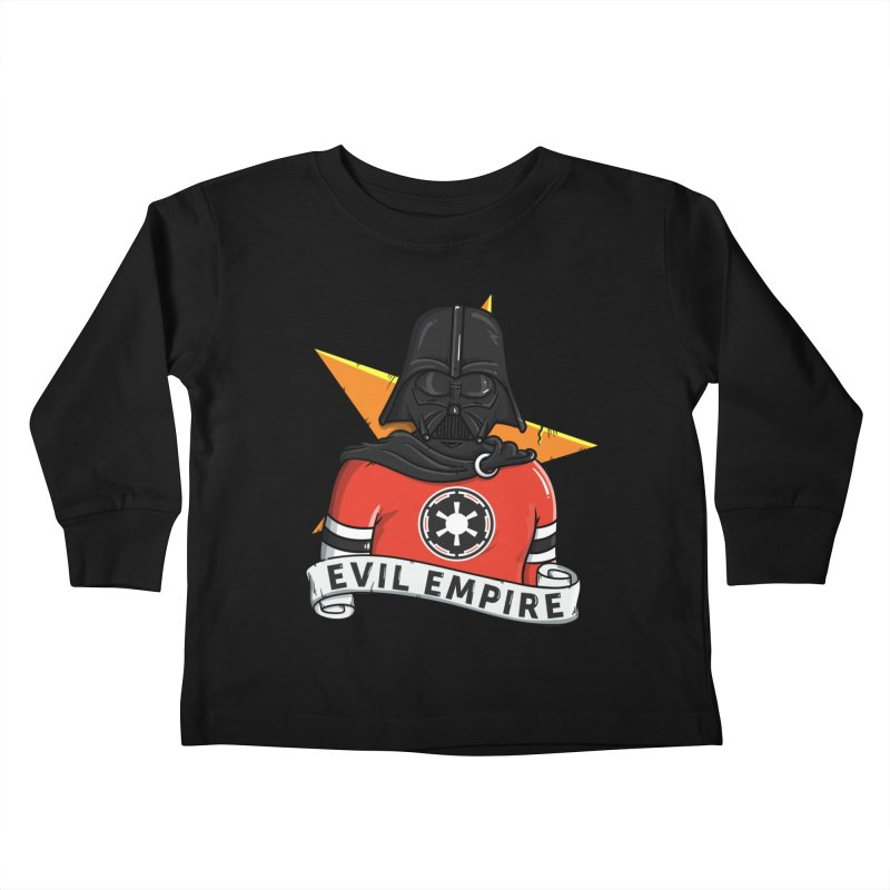 Evil Empire Kids Toddler Longsleeve T-Shirt by mebzart's Artist Shop