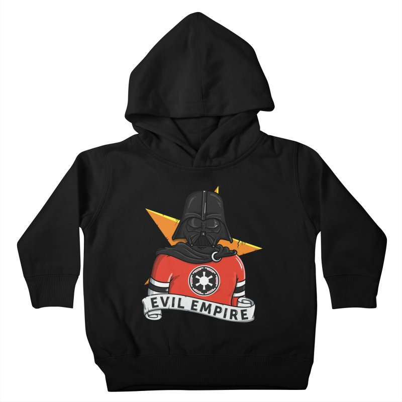 Evil Empire Kids Toddler Pullover Hoody by mebzart's Artist Shop