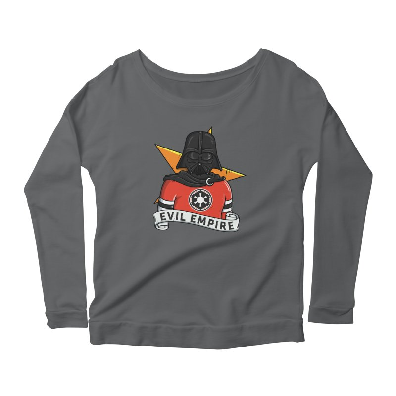 Evil Empire Women's Longsleeve T-Shirt by mebzart's Artist Shop