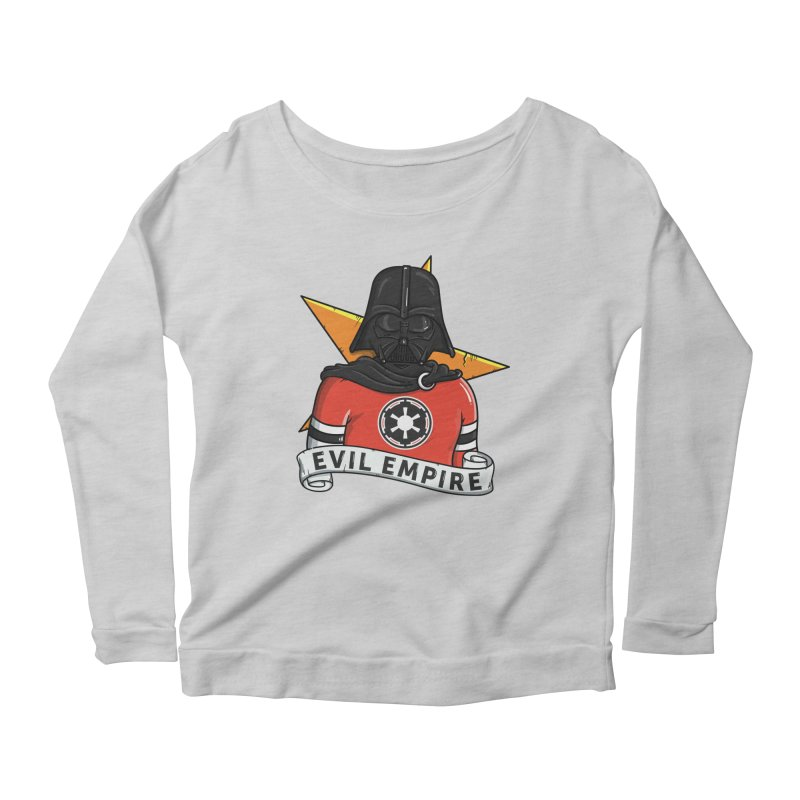 Evil Empire Women's Scoop Neck Longsleeve T-Shirt by mebzart's Artist Shop