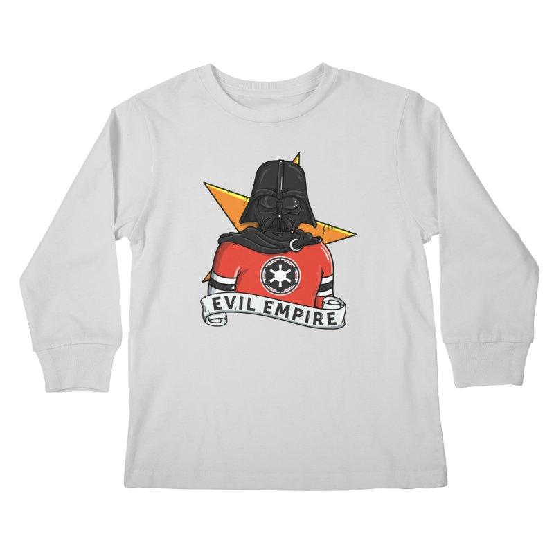 Evil Empire Kids Longsleeve T-Shirt by mebzart's Artist Shop