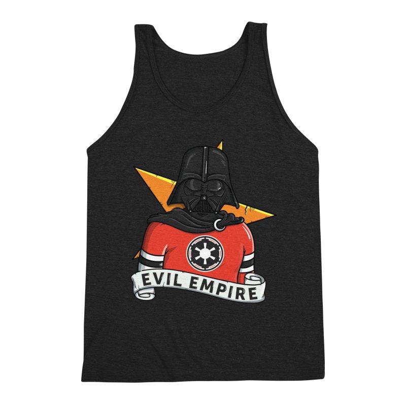 Evil Empire Men's Triblend Tank by mebzart's Artist Shop