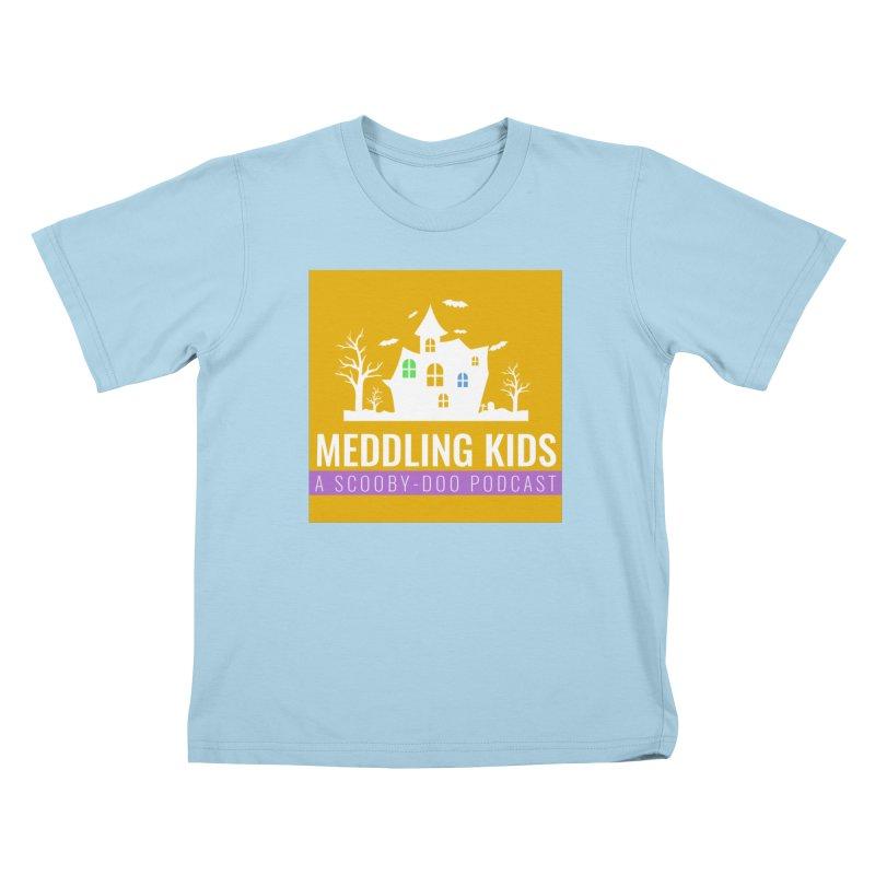 Original Orange Logo Kids T-Shirt by Ninja Penguin Pods